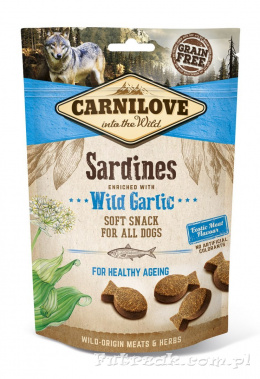 Carnilove Sardines with Garlic/200g