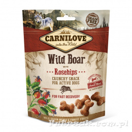 Carnilove Wild Boar with Rosehips/200g