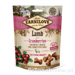 Carnilove Lamb with Cranberries/200g
