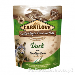 Carnilove Dog Adult Duck with Timothy Grass/300g