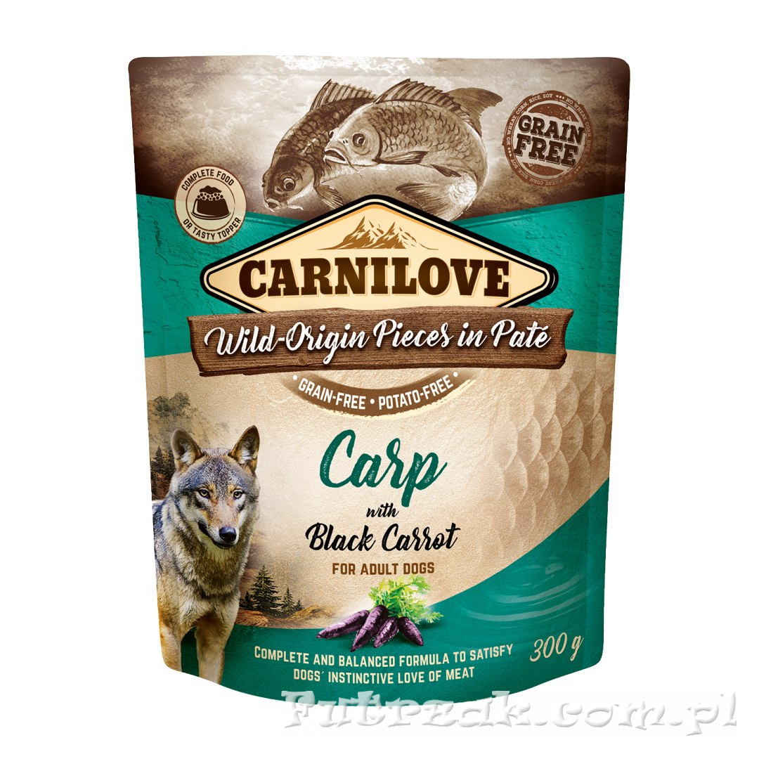 Carnilove Dog Adult Carp with Black Carrot/300g